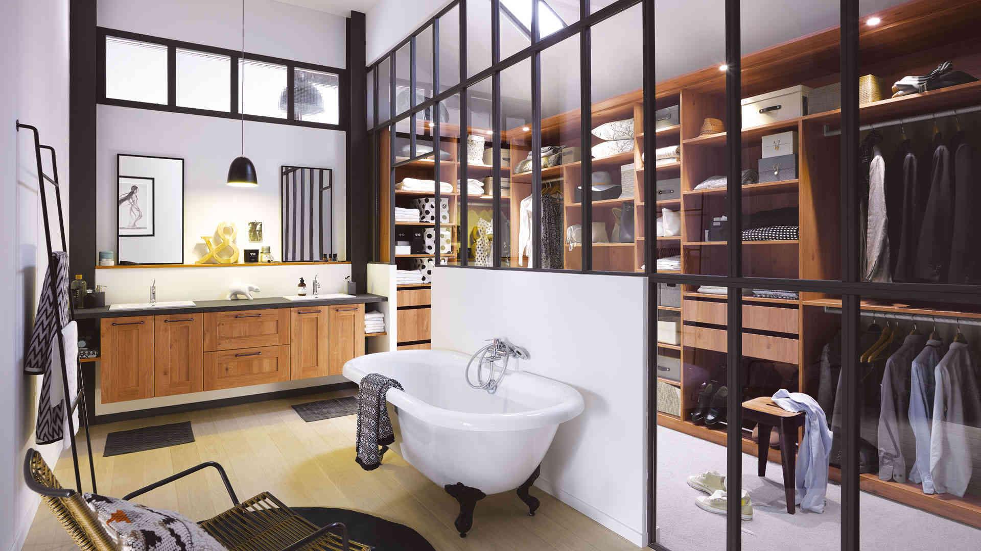 la salle de bain design des colos deco in. Black Bedroom Furniture Sets. Home Design Ideas