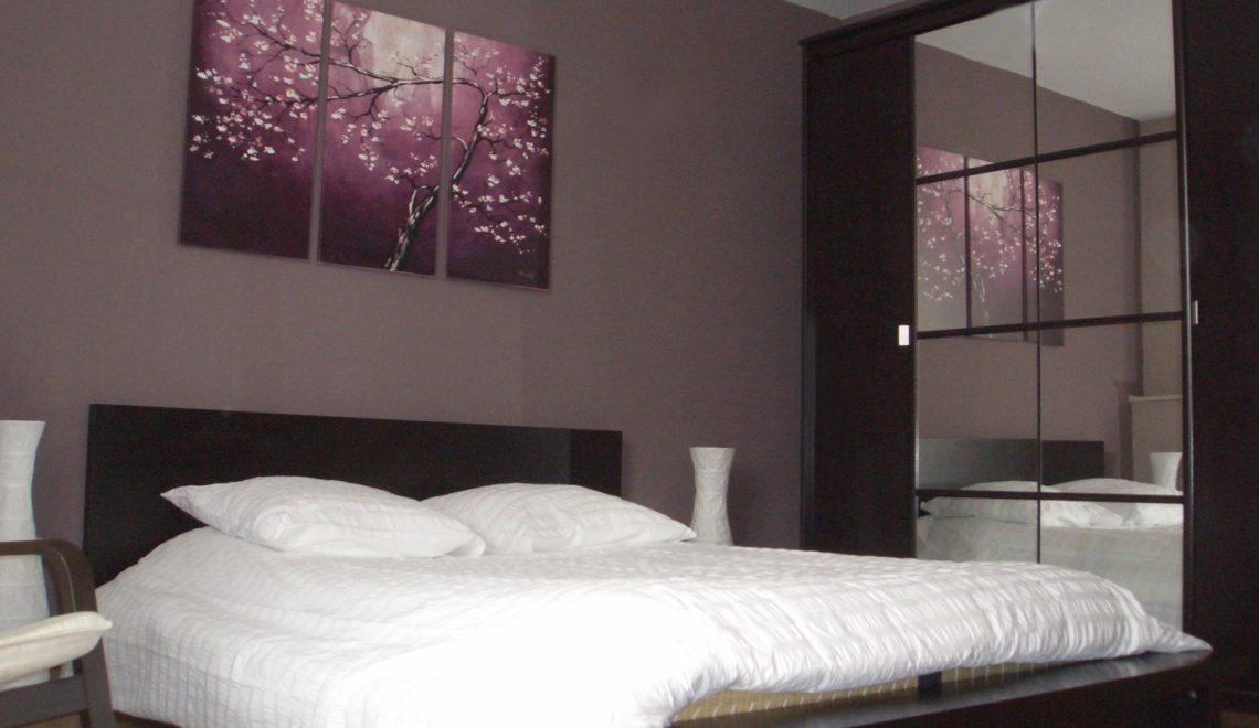 Les couleurs id ales d un mur pour une chambre deco in - Peinture mur chambre a coucher ...