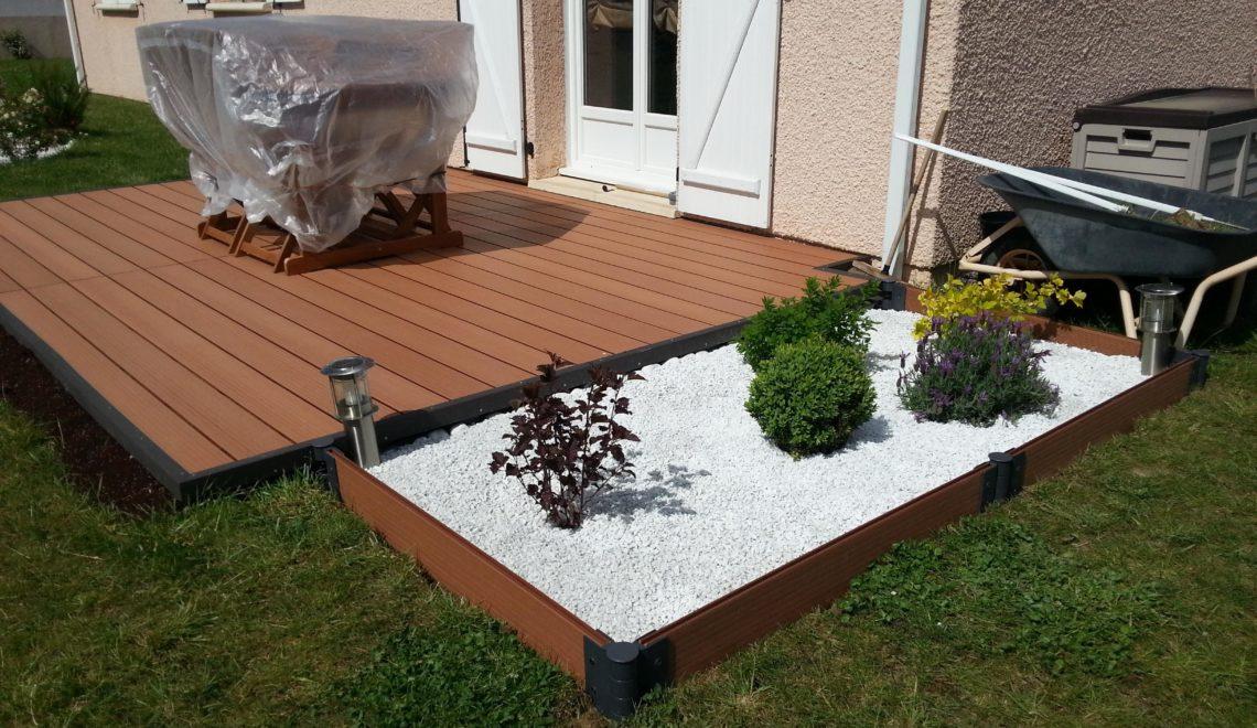 un sol parfait pour sa terrasse de jardin deco in. Black Bedroom Furniture Sets. Home Design Ideas