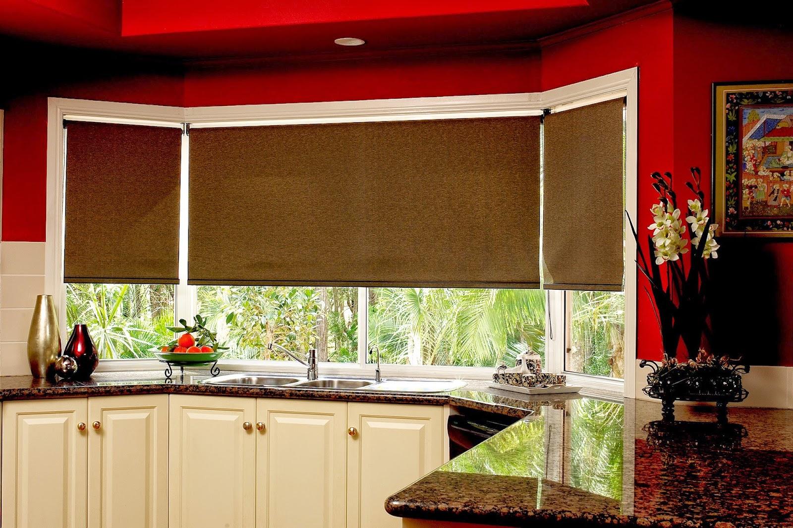 un rideau pour sa cuisine deco in. Black Bedroom Furniture Sets. Home Design Ideas