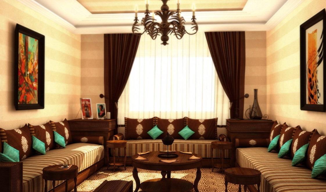Un salon en marron - Deco-In
