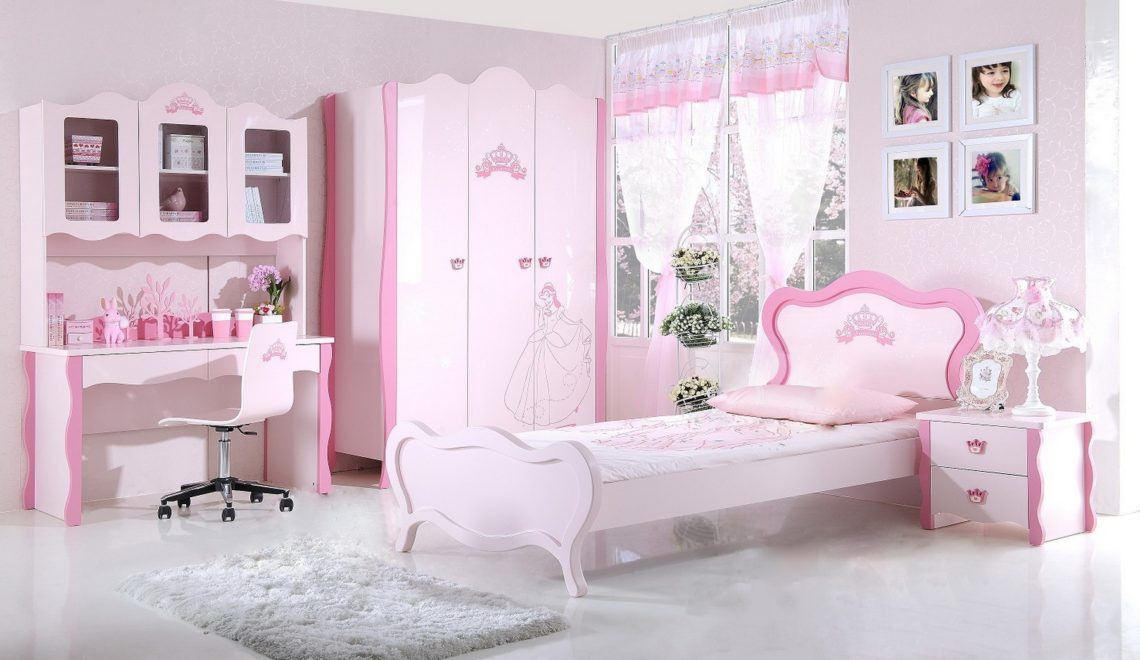 une chambre digne d une princesse pour votre tr sor deco in. Black Bedroom Furniture Sets. Home Design Ideas