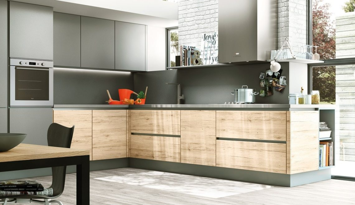 le placard id al pour une cuisine moderne deco in. Black Bedroom Furniture Sets. Home Design Ideas