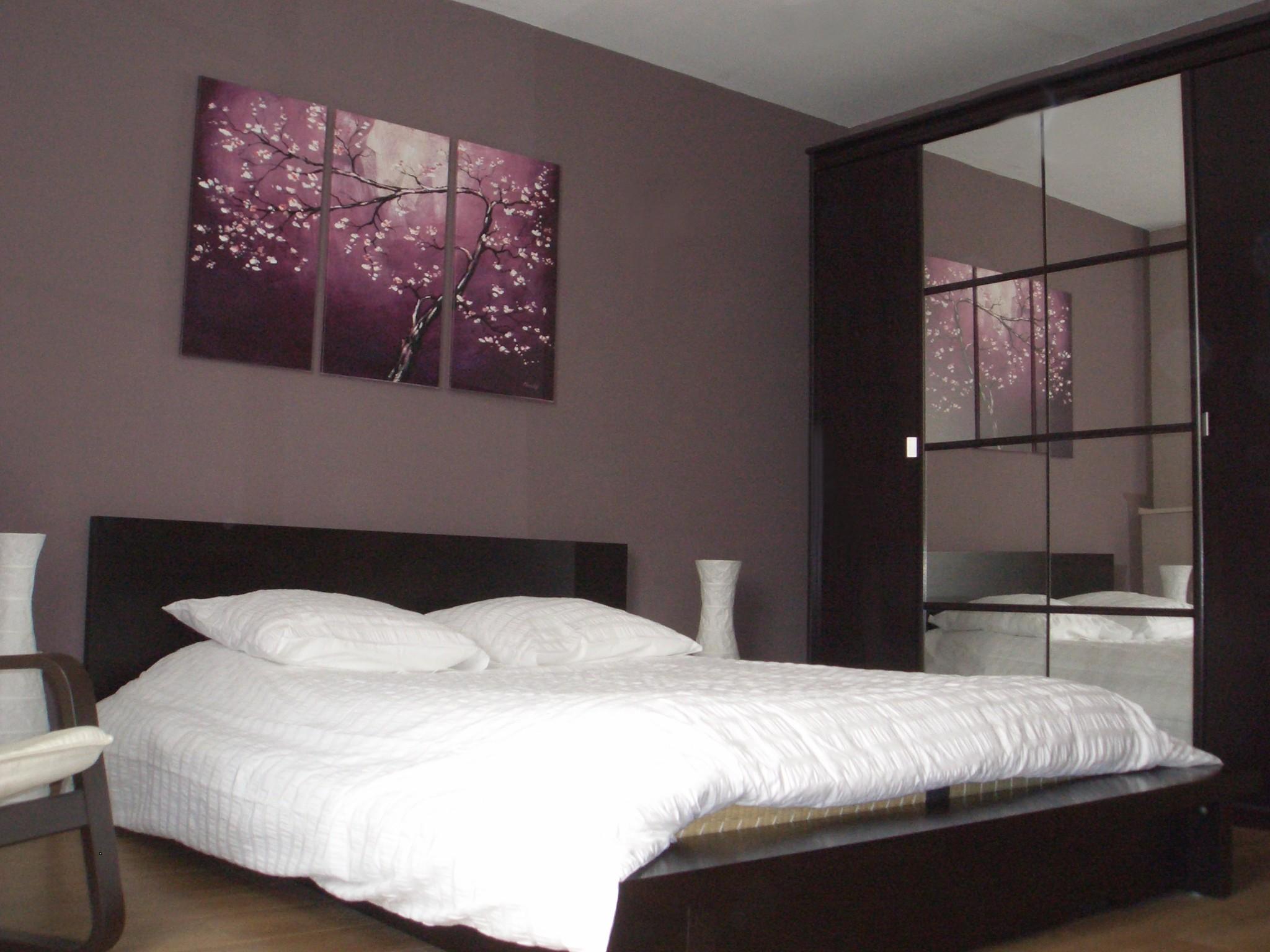 Les couleurs id ales d un mur pour une chambre deco in - Tendance chambre ...